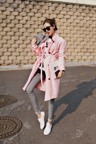 bubble gum Ssongbyssong coat