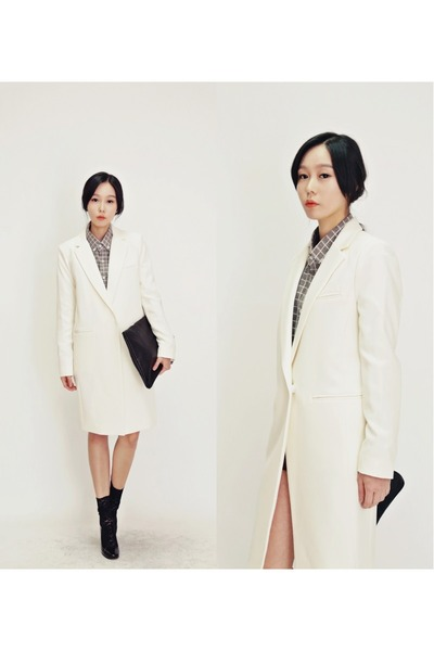 ivory Ssongbyssong coat
