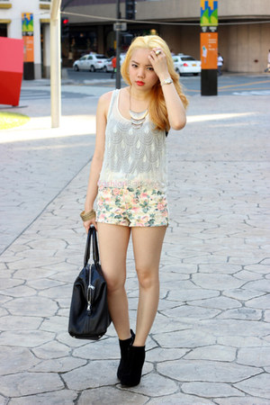 Forever21 shorts - easy YSL bag