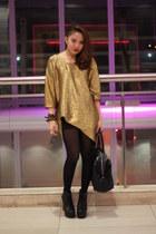 metallic pinkaholic blouse