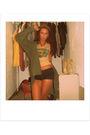 Yellow-vintage-vans-t-shirt-green-vintage-60s-jacket-jacket-blue-joyce-lesli