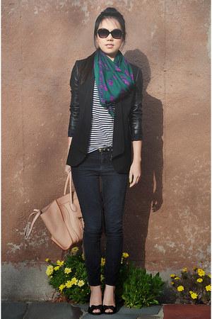 robert rodriguez jacket - Alexander McQueen scarf