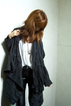 JJill jacket - Zara top - Members Only - payless