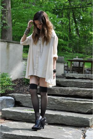 black American Apparel socks - black Kors by Michael Kors shoes