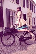 Zara coat - Zara dress