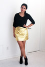 Black-ankle-zara-boots-black-romwe-shirt-gold-leather-zara-skirt