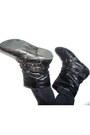 Black-studded-boots-black-skinny-jeans-insync-shirt-grey-scarf-black-stu