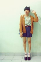 modified shorts - cardigan