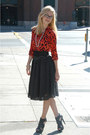 Red-leopard-print-h-m-blouse-black-aliceolivia-belt-black-polka-dotted-h-m-s