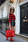 Chloe-boots-balenciaga-bag-zara-shorts-forever-21-sunglasses
