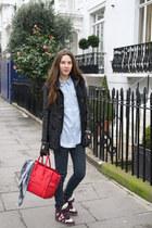 Celine bag - Primark jeans - Isabel Marant sneakers