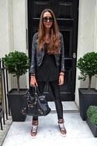 Givenchy sneakers - balenciaga bag