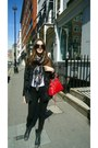 Zara-leggings-ash-shoes-bershka-jacket-balenciaga-bag