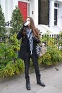 Ash-boots-pull-and-bear-coat-louis-vuitton-scarf