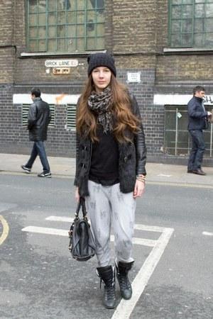balenciaga bag - Topshop pants - Chanel sneakers
