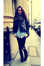 Balmain boots - Primark jeans