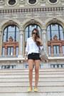 Balenciaga-bag-topshop-shorts-giacomorelli-flats