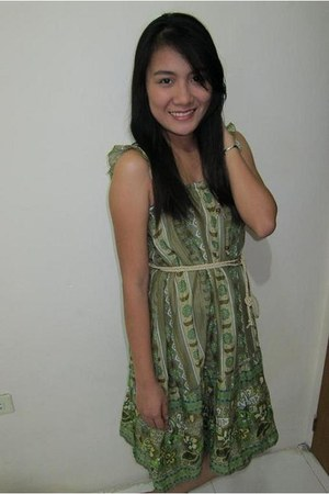 green random brand from Japan dress
