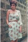 Beige-loafers-loafers-vintage-dress-dress-earrings-earrings
