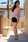 Light-pink-forever21-top-black-metropark-skirt-bubble-gum-asos-sandals