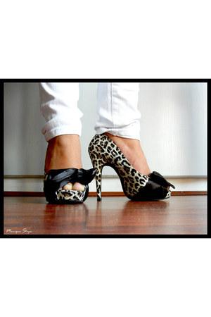 leopard prints heels