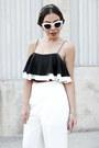 White-cat-eye-quay-sunglasses-white-wide-leg-tobi-pants