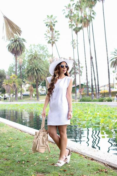 Sears White Dresses
