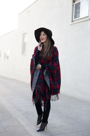 black jeans denizen jeans - black wool Forever 21 hat