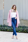 Bubble-gum-oversized-boohoo-coat-blue-high-waisted-zara-jeans