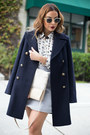 Navy-peacoat-marks-and-spencer-coat-tan-fur-marks-and-spencer-bag