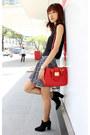 Black-ankle-fall-zara-boots-red-miu-miu-bag-black-zara-skirt