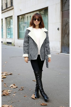 f4c818505c8 black stuart weitzman boots - black skinny 7 for all mankind jeans