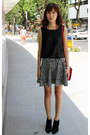 Black-ankle-fall-zara-boots-red-miu-miu-bag-black-zara-skirt