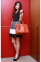 burnt orange leather bag Salvatore Ferragamo bag
