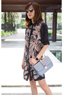 Gray-melissa-shoes-navy-silk-club-monaco-dress-valentino-bag