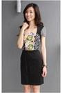 Black-summer-versace-jeans-dress