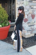 just fab bag - Prada sunglasses - Victorias Secret pants - Macys blouse