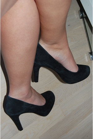 black asos shoes