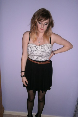 off white H&M top - Primark skirt