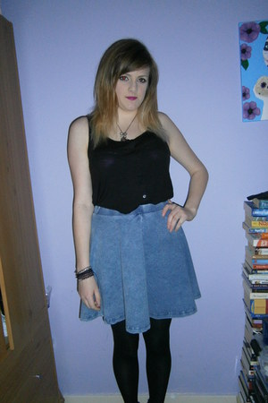 Topshop skirt - H&M top