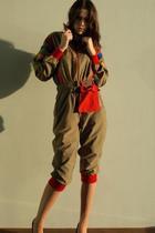 brown vintage from Ebay suit