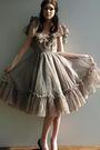Beige-vintage-from-ebay-dress