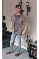 Aldoo shoes - skinny jeans jeans - Mexx shirt - Letiga t-shirt