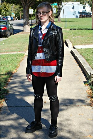 studded DIY leggings