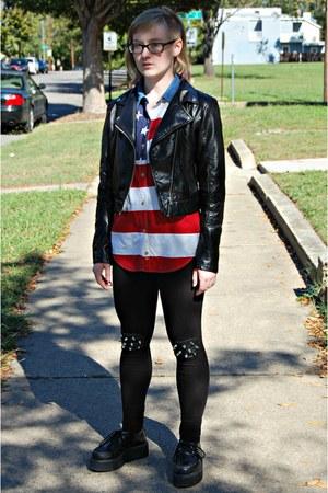 studded DIY leggings