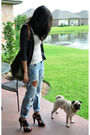Gray-uo-cardigan-pink-topshop-top-black-aldo-shoes-gold-uo-necklace-gree