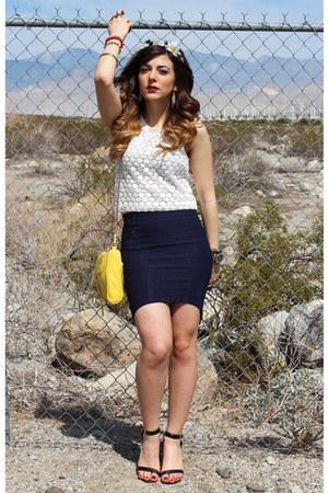 H&M top - Nasty Gal skirt