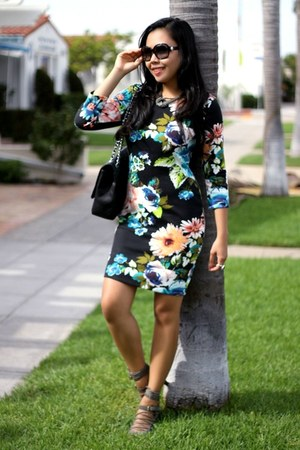StyleAt30 ring - H&M dress - Chanel bag - J Crew heels - StyleAt30 necklace