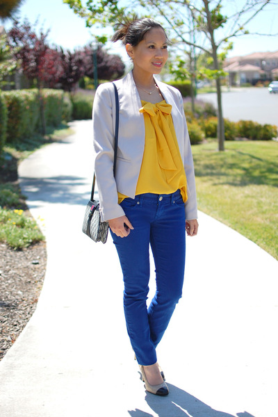 Cobalt Blue Express Jeans Hu0026M Blazers Gucci Bags | U0026quot;Mustard Yellow U0026 Cobalt Blueu0026quot; By ...
