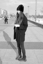 Zara coat - Zara hat